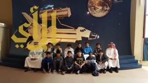 واحة الملك سلمان تستضيف طلاب ابتدائية العليا