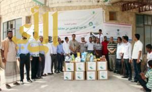 مركز الملك سلمان للإغاثة يقدم مساعدات لـ180 ألف يمني بحضر موت