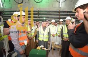 فيصل بن بندر مطمئناً سكان الرياض: القطار تخطى مراحله الصعبة