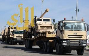 وصول طلائع إضافية من قوات الحرس الوطني إلى نجران