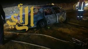 مصرع شخصين وإصابة آخرين بحادث مروري على طريق البديعة بتبوك