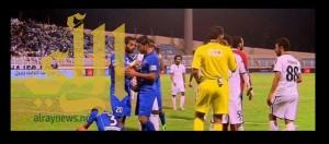 ياسر القحطاني يدخل نادي الرابطة المئوي في مباراة هجر