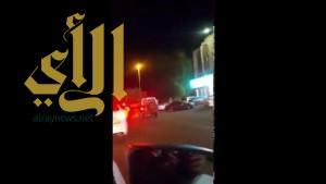 بالفيديو .. إيقاف قائد دورية اصطدم بسيارة مواطن ولم يتوقف بمكة