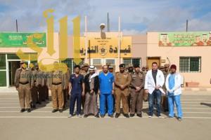 """وكيل إمارة الباحة يشيد بدور """" الخدمات الطبية """" بوزارة الداخلية بالمنطقة"""