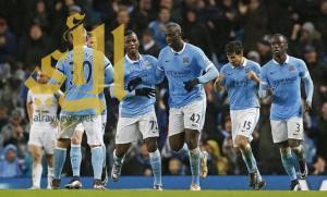 مانشستر سيتي يتغلب على سوانزي سيتي و ينتزع صدارة الدوري الإنجليزي