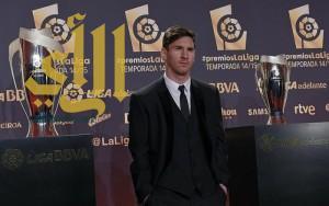 ميسي أفضل لاعب وهداف في الدوري الاسباني
