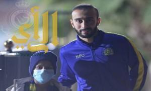 فريق النصر يحقق رغبة الطفل الشمري