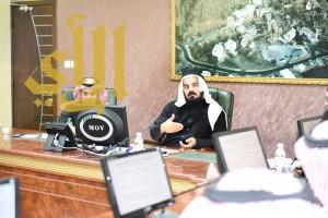 """""""الهبدان """" يترأس اجتماع المجلس التنفيذي بصحة المنطقة"""