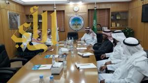 اجتماع تنسيقي بين جمعية الكشافة والتوعية الاسلامية بوزارة التعليم