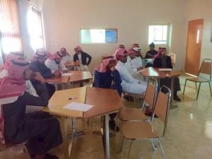 إبتدائية الرشيد ومتوسطة جابر بن حيان تنفذ دورة تدريبية عن التعلم التعاوني