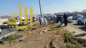 ثلاث إصابات خطرة بطريق تبوك بالمدينة المنورة