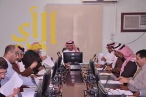 عقد إجتماع اللجنة المركزية لتنسيق البرامج الفنية الصحية بصحة بيشة
