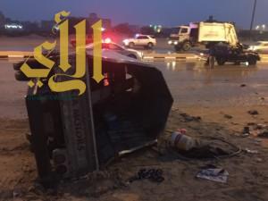 إصابة 12 آسيوي في حادث مروري بمحافظة الأحساء