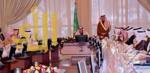 أمير الباحة يرأس الجلسة الافتتاحية لجلسات منطقة الباحة في دورته الرابعة لهذا العام