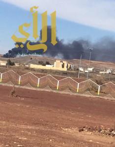 سكان وادي الوهابة بسراة عبيدة يعانون من أدخنة الكسارات