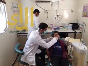 أكثر من 106 ألف راجعوا عيادات الأسنان بالشؤون الصحية بنجران