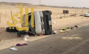 إصابة 3 طالبات في حادث جنوب الرياض