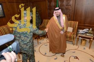 أمير عسير يستقبل وكيل وزارة الداخلية لشؤون الأفواج