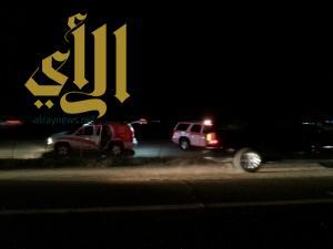 وفاتين وخمس إصابات لعائلة سعودية على طريق الهجرة بالمدينة المنورة