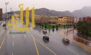 حالة مطرية جديدة على مكة والمدينة وحائل والحدود الشمالية