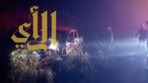 وفاة و21 إصابة متفاوتة تشهدها الباحة بسبب تقلبات الأجواء الماطرة