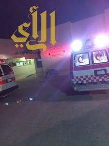 إصابة خطرة لطفلة نتيجة دهسها بكورنش سيهات