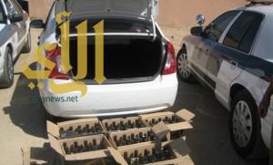 ضبط مواطن بحوزته 125 حبة مخدرة وعرق في المزاحمية