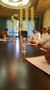الجهات الحكومية بعسير تعقد إجتماعها التنسيقي مع الدفاع المدني