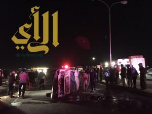 الجمهور يعيق عمل الفرق الإسعافية للهلال الأحمر بمحافظة أملج