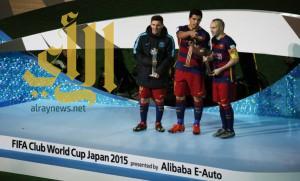للمرة الثالثة.. برشلونة بطلاً لكأس العالم للأندية