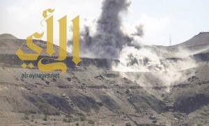 التحالف يقصف معسكر النهدين في صنعاء .. وانفجار صاروخين في محاولة فاشلة للحوثيين
