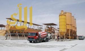 ضبط 14 مخالفة لمصانع الخرسانة بالجوف