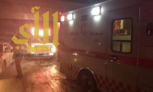إصابة 4 أشخاص في تصادم بحي النسيم بالرياض