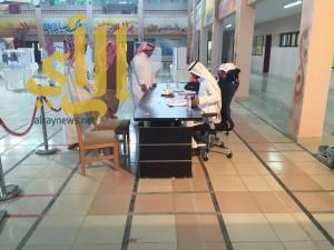 الناخبين يدلون باصواتهم بمركز الصبيخة