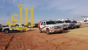 ثلاثة وفيات وأربع إصابات بحادث سير عسيلان بريدة