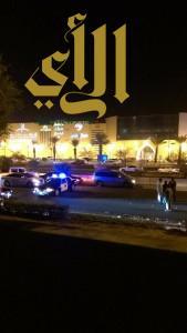 إحتراق مركبتين بالمدينة المنورة وإصابة قائديها