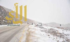 الطقس: الصقيع وتساقط الثلوج على مناطق الشمال .. وأمطار تصل الرياض والشرقية