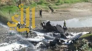 نجاة طيار بحريني بعد سقوط طائرته من نوع إف 16 في جازان