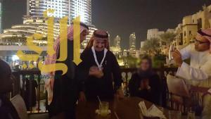 """نائب قائد شرطة دبي """"رسولاً للسلام"""""""
