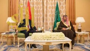 خادم الحرمين الشريفين يعقد جلسة مباحثات مع الرئيس التركي
