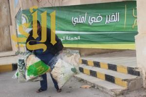 """""""الحملة الوطنية """"لنصرة الأشقاء في سوريا وزعت 7322 قطعة شتوية"""
