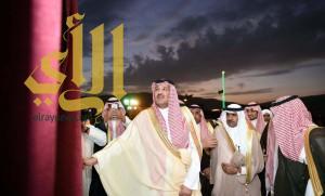 أمير منطقة المدينة المنورة يدشن مشاريع تنموية بمحافظة بدر