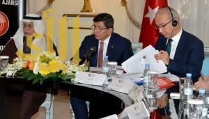 رئيس الوزراء التركي يلتقي برجال الأعمال بالرياض