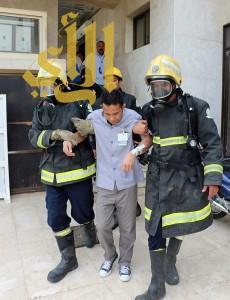 """""""مدني مكة"""" ينفذ تجربة فرضية بإحدى المستشفيات الأهلية"""