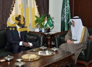 الجبير يلتقي وزراء خارجية موريتانيا وجزر القمر وساحل العاج
