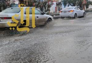 أمطار الخير والبركة تهطل على منطقة جازان