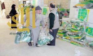 المملكة تقدم مستلزمات الشتاء لـ 2827 لاجئًا سوريًا في لبنان