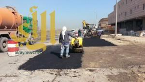 بلدية الجبيل ترصد مخالفات المباني التي لديها تسرب في مياه الصرف