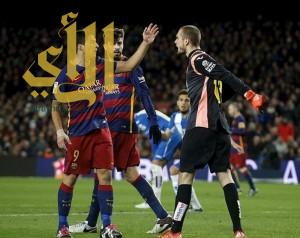 سواريز مهدد بالإيقاف بعد توجيهه كلمات نابية إلى لاعبي اسبانيول