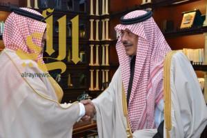 سمو أمير الباحة يستقبل مدير الشئون الصحية المعيّن حديثاً